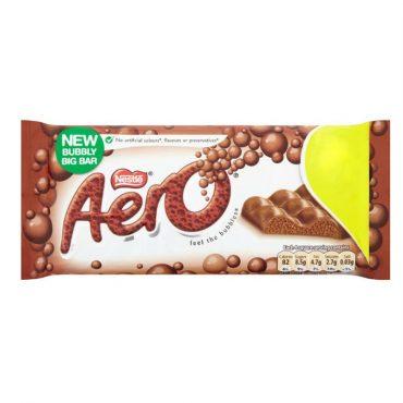 Aero Giant Block Milk 100g