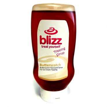 Blizz Butterscotch Topping Sauce 625g