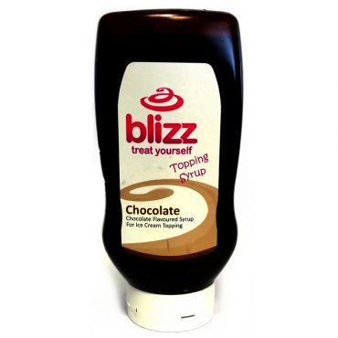 Blizz Chocolate Topping Sauce 625g