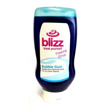 Blizz Bubble Gum Topping Sauce 625g