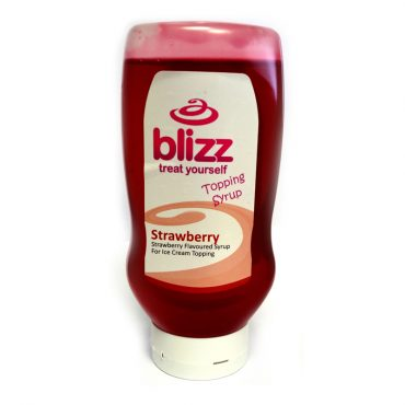 Blizz Strawberry Topping Sauce 625g