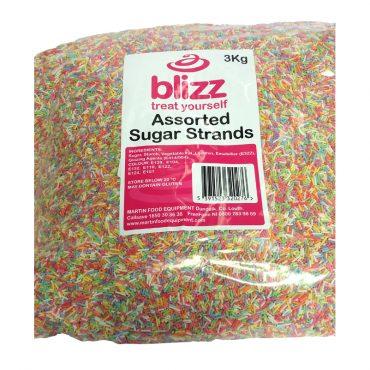 Blizz Sugar Strands 3kg