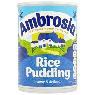 Ambrosia Rice Pudding 400g PK24
