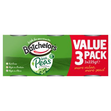 Batchelor's Peas 3pk 225g