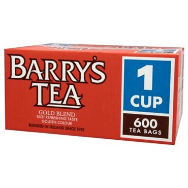 Barry Gold Blend 600's Tea Bags Catering