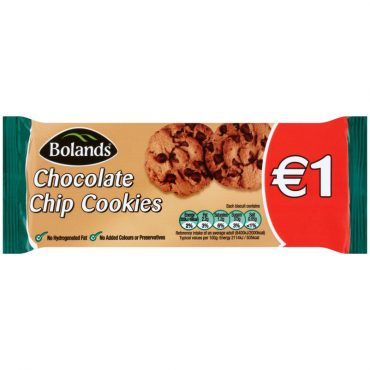 Boland's Chocolate Chip Cookies 145g FL1.00
