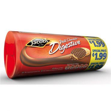 Jacob's Chocolate Digestive 300g FL €1.99