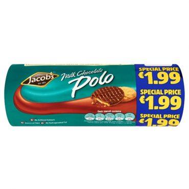Jacob's Chocolate Polo 300g FL €1.99