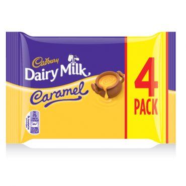 Cadbury Caramel 4pk