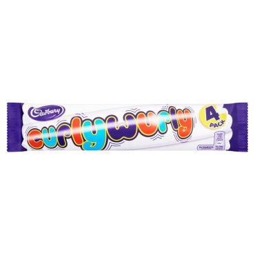 Cadbury Curlywurly 4pk
