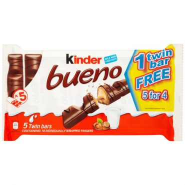 Kinder Bueno 5 for 4
