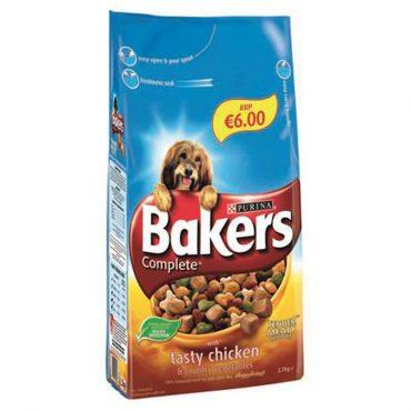 Bakers Adult Chicken & Vegetable FL €6.00 2.7kg