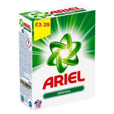 Ariel Bio Powder 10 Wash FL 3.29
