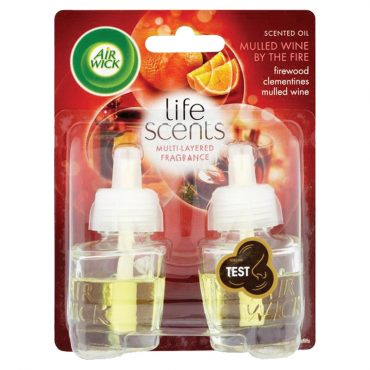 Airwick Life Scents Twin Refill Mulled Wine