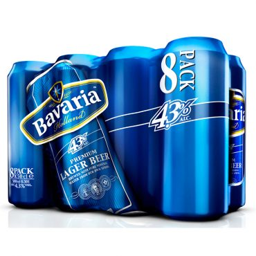 Bavaria 500ml 8pk Cans