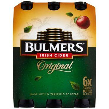 Bulmer's Long Neck 6pk 330ml Bottles