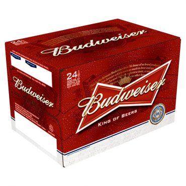 Budweiser 330ml 24pk