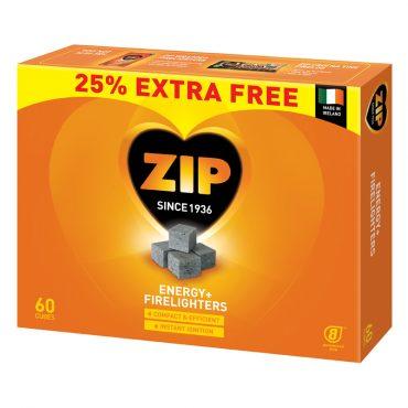 Zip Firelighters 60 for 48's