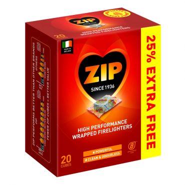 Zip Individual Wrap 16's + 25% Free