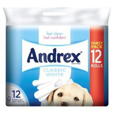 Andrex Toilet Roll 12 for 9
