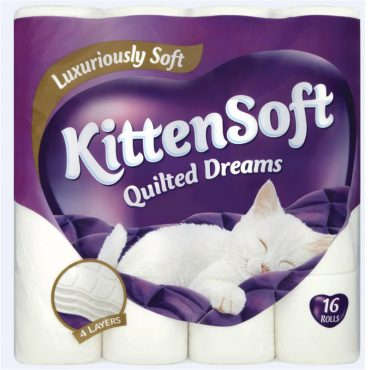 Kittensoft Quilted Dreams 16pk