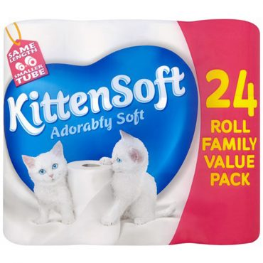 Kittensoft Toilet Roll 24pk