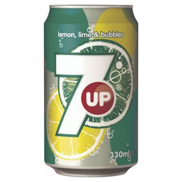 7up Cans 330ml Singles