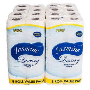 Jasmine Toilet Roll 8pk