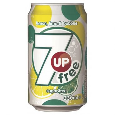 7up Free Cans 330ml