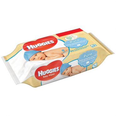 Huggies Baby Wipes 56's