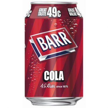 Barr Cola Cans 330ml Singles FL 49c