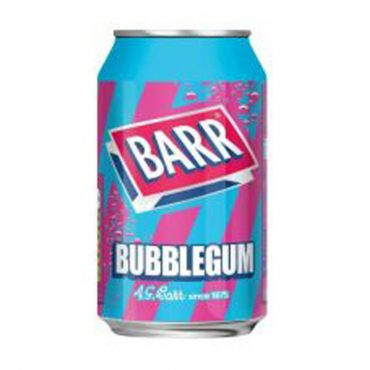 Barr Bubblegum Cans 330ml Singles FL 49c