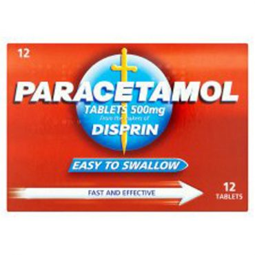 Disprin Paracetamol Tablets 12's