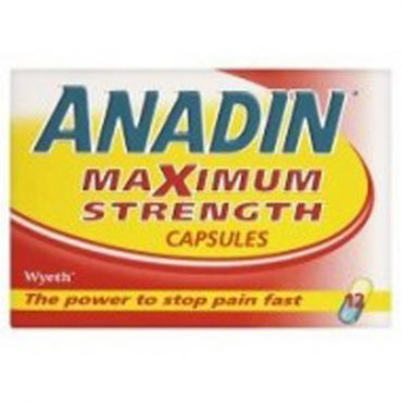Anadin Maximum Strength 12's