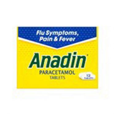 Anadin Fast Acting Tablets 12's