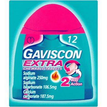 Gaviscon Extra Handipack Tablets 12's