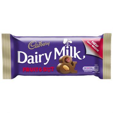 Cadbury Dairy Milk Fruit & Nut PK48