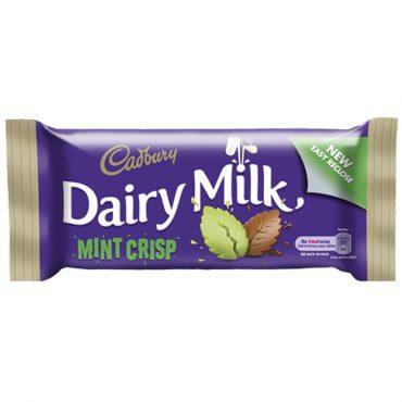 Cadbury Dairy Milk Mint Crisp
