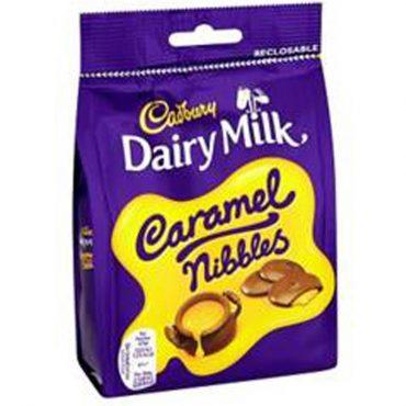 Cadbury Caramel Nibbles Pouch 120g