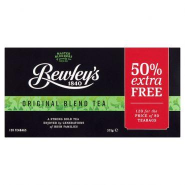 Bewley's Original Blend Tea 80's + 50% ExFill