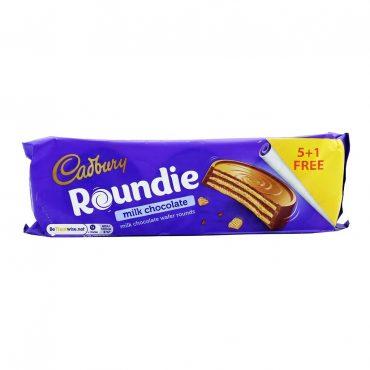 Cadbury Roundie Milk Chocolate 180g PK18