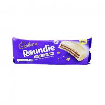 Cadbury Roundie White Chocolate 180g PK18
