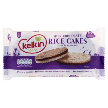 Kelkin Chocolate Rice Cake 100g