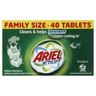 Ariel Tabs Regular 40's