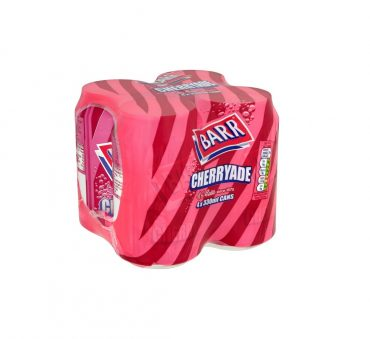 Barr Cherryade Cans 4pk