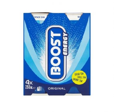 Boost Cans 250ml 4pk