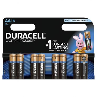 Duracell AA Batteries 8's