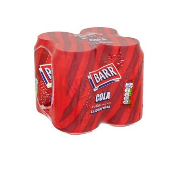 Barr Cola Cans 4pk