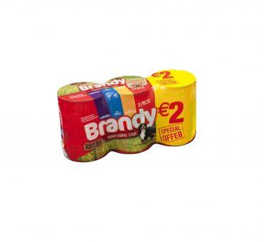 Brandy Dog Food Chunks in Loaf 3pk FL...