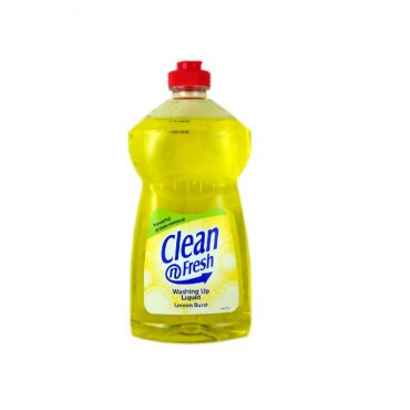 Clean N Fresh Washing Up Liquid Lemon 500ml